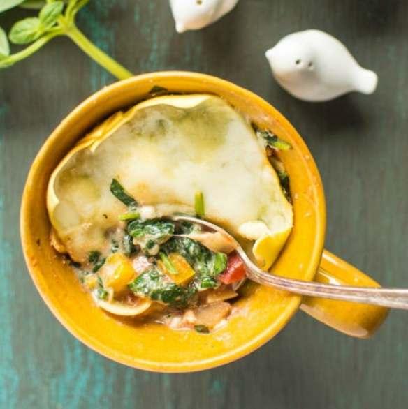 Spinach-Ricotta-Lasagna-In-A-Mug-5
